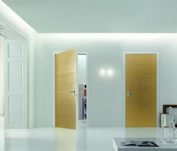Skrivena protuprovalna vrata vrata dizajn primjer 12