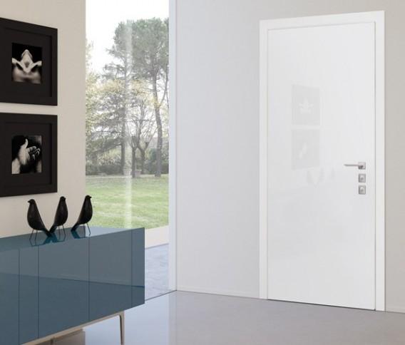 Skrivena protuprovalna vrata vrata dizajn primjer 14
