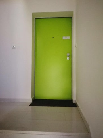Protuprovalna vrata akcija vrata dizajn primjer 13