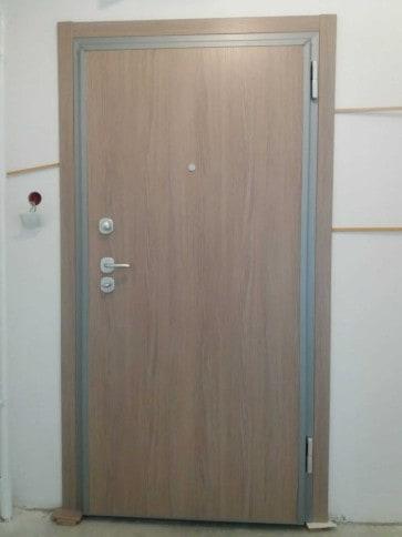 Protuprovalna vrata akcija vrata dizajn primjer 9